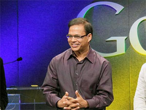 Amit Singhal from Google