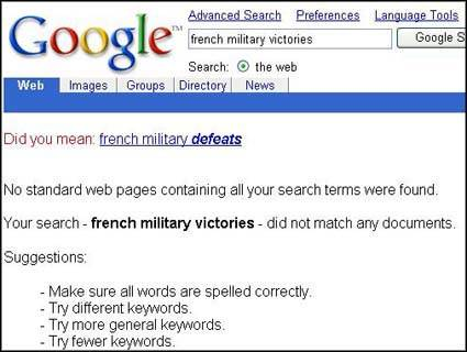 French victories search