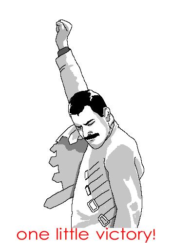 freddie mercury victory