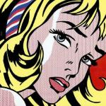 pop art girl image