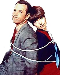 Maxwell Smart and Agent 99 from the Get Smart TV Series