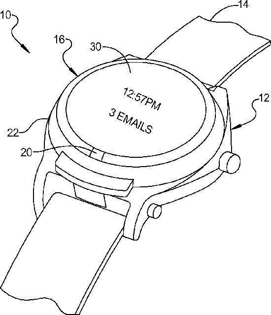 Google Watch from USPTO