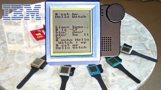 IBM Linux Watch (2000-2004)