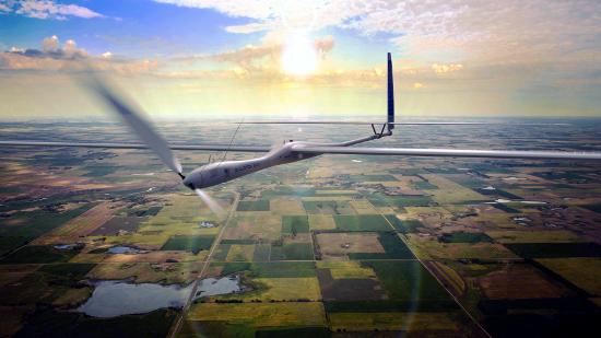 Photo of the Solara 50 self powered glider.