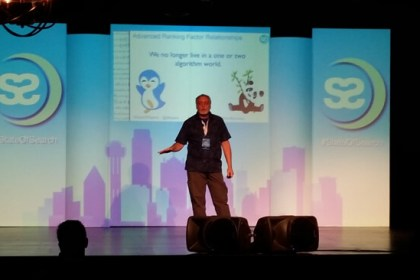 Alan Bleiweiss at State Of Search 2015