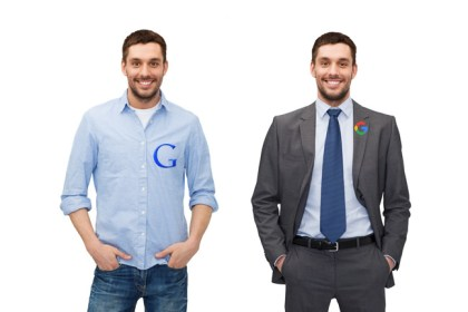Google then and now.