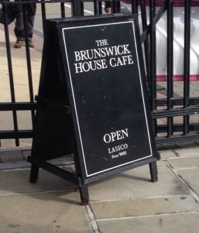 Brunswick House, coffee, cortado