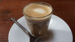 cortado, Brunswick House, everyday physics, coffee cup science