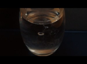 A milk ring in water. Once it was thought that atoms might look like this.