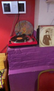 record player, turntable