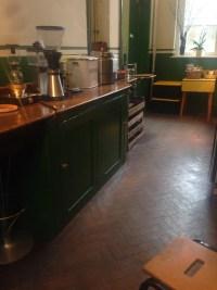 Parquet floor at Coffee Affair