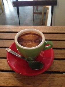 coffee at Sarnies Singapore