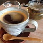 Wa cafe, Ealing, pottery, ceramic, bamboo spoon, glass tea pot