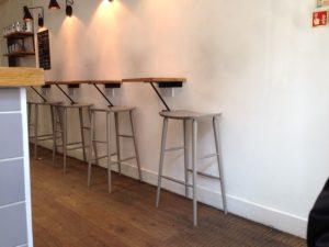 Interior of Kin cafe