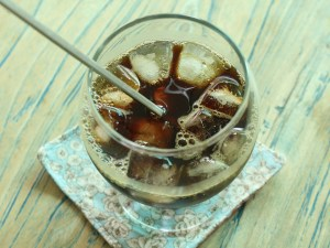 Cold brew coffee with ice