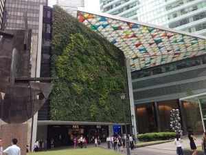 Green wall Singapore