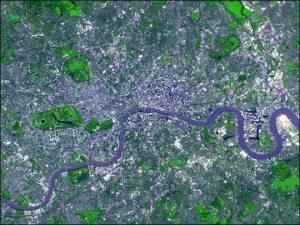 Thames, NASA image