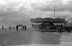 Merry-go-round and pier developed with coffee