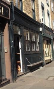 exterior of Wilton Way, Hackney Coffee