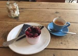 coffee cake, Kahaila, Brick Lane