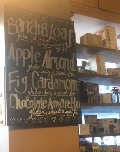 coffee, cake menu, Clapham Junction, monmouth coffee