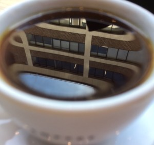 Coffee reflections
