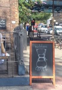exterior hidden coffee Camden Road