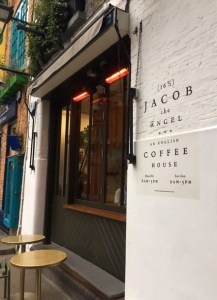 Jacob the Angel, coffee Covent Garden