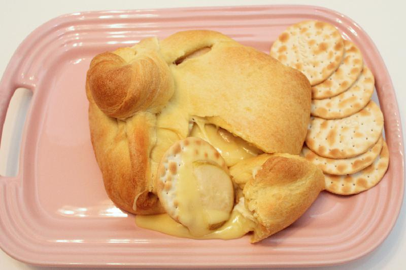 Baked Brie with Pears for #FabulousFallBounty