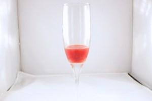 Berry and orange juice for Sparkling Cranberry Sangria   BearandBugEats.com