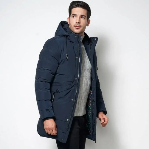 Bearboxers Menswear Winter Parka Coat - New Arrivals