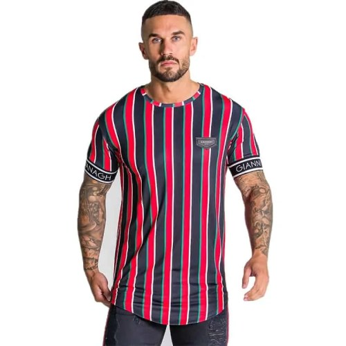 Men's KG Raglan Stripe T-Shirt - Bearboxers menswear