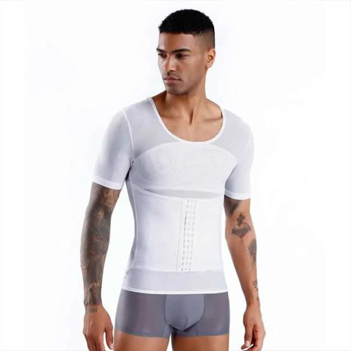 Belly Control Slimming Waist Trainer T-shirt