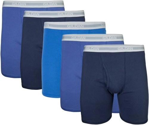 Gildan Men's Regular Leg Boxer Brief Multipack