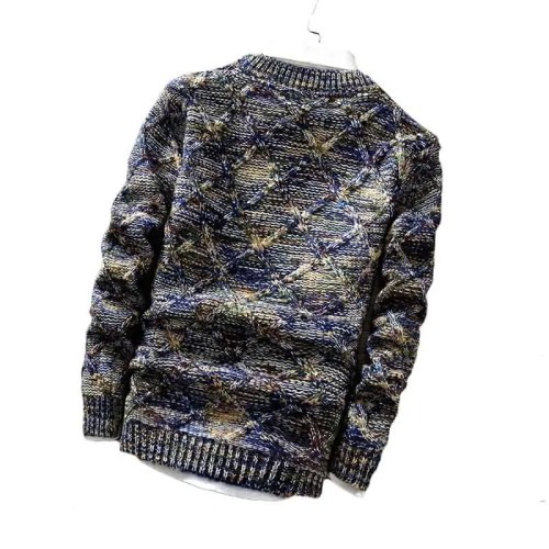 Slim Fit Long Sleeve Knitted Pullover
