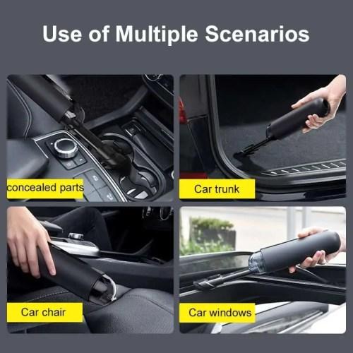 Baseus Portable Wireless Handheld Car Vacuum Cleaner