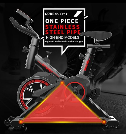 Foldable Indoor Fitness and Exercise Bike
