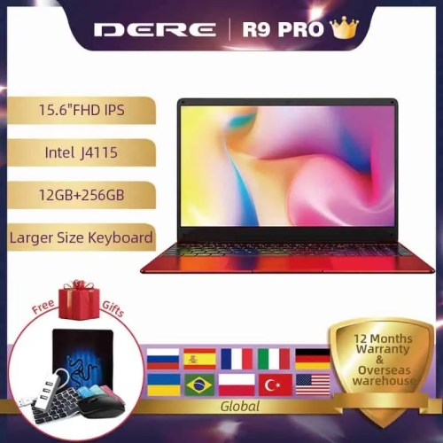 Dere R9 PRO 15.6 inch Intel Gemini Lake J4115 Laptop