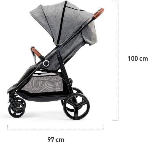 Passeggino Kinderkraft Grande Grey