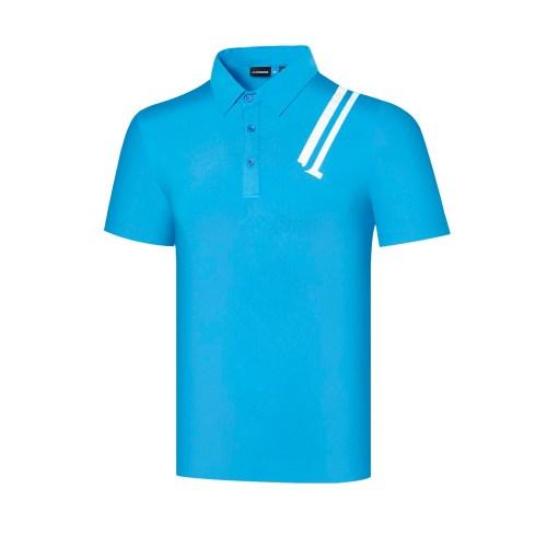 Spring Summer New Short Sleeve Golf Shirt JL Men's Sports Polo