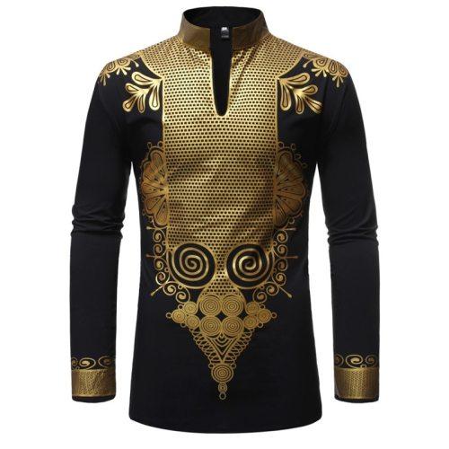 Luxury Dashiki African Print Shirt