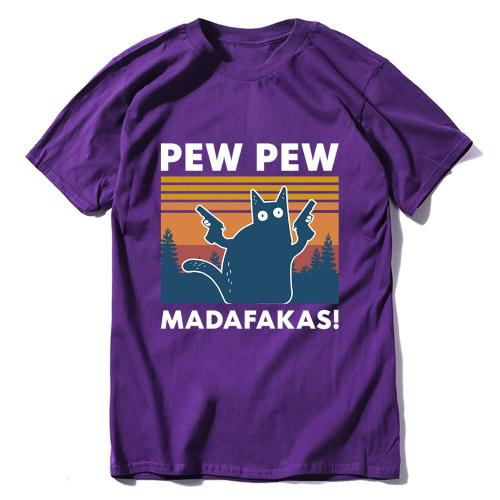 Pew Pew Madafakas 100% Cotton Novelty T-Shirt