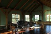 The BeARcade Studio's interior