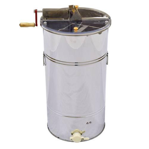 2-Frame Hand Crank Honey Extractor