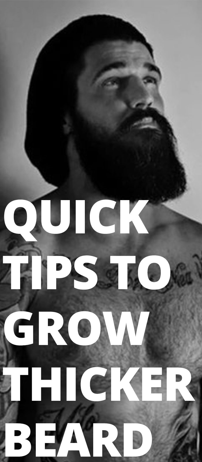 Quick Tips To Grow Thicker Beard