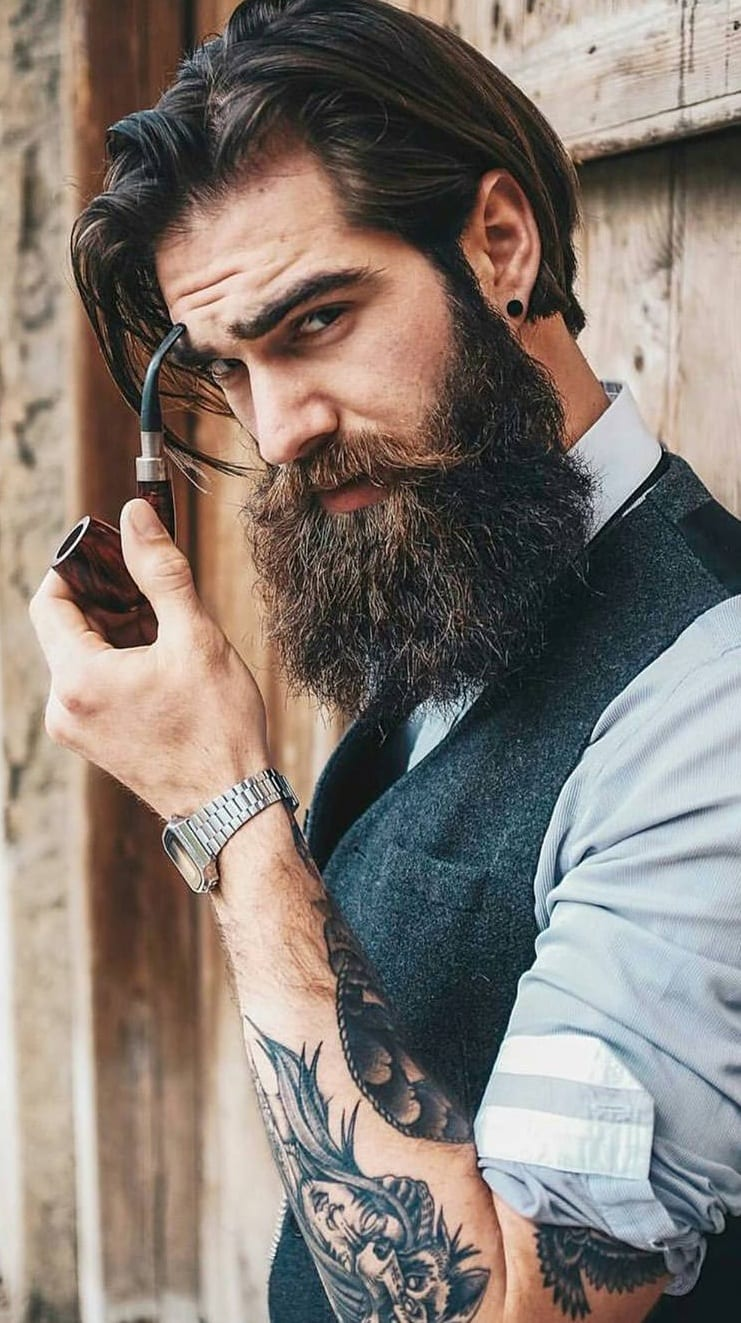 Stunning Thick Beard Tips