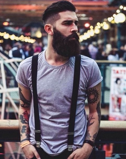 get this type of thicker beard