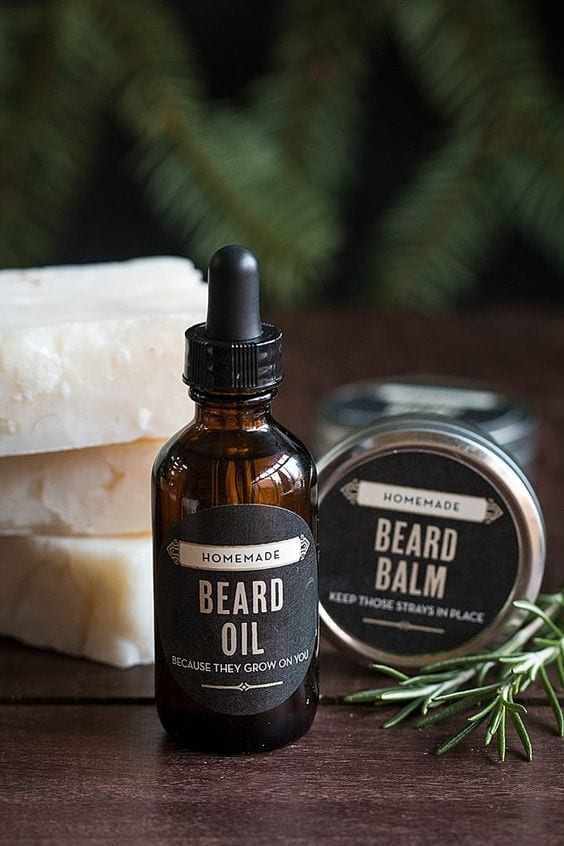 Home made beard oil idea