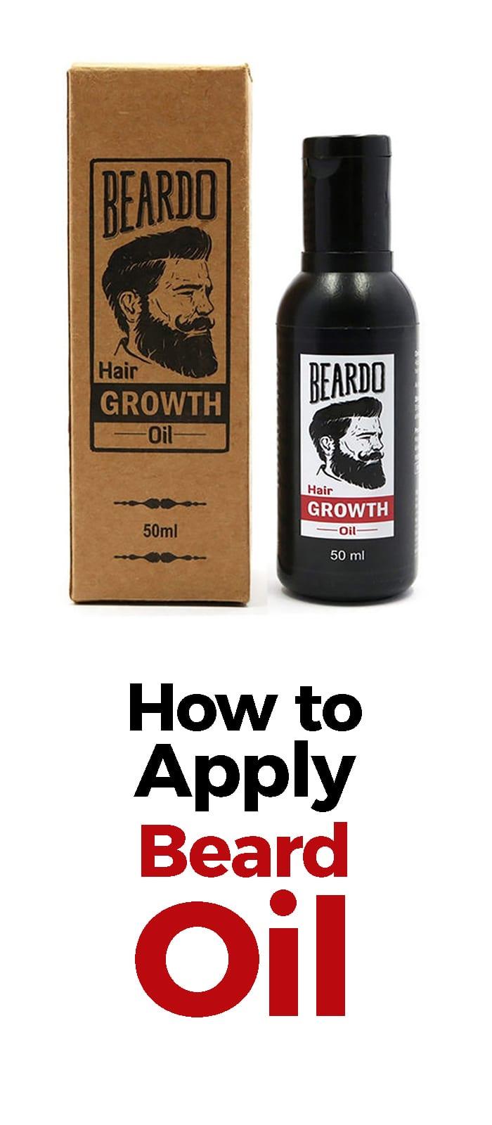 How To Apply Beard Oil!