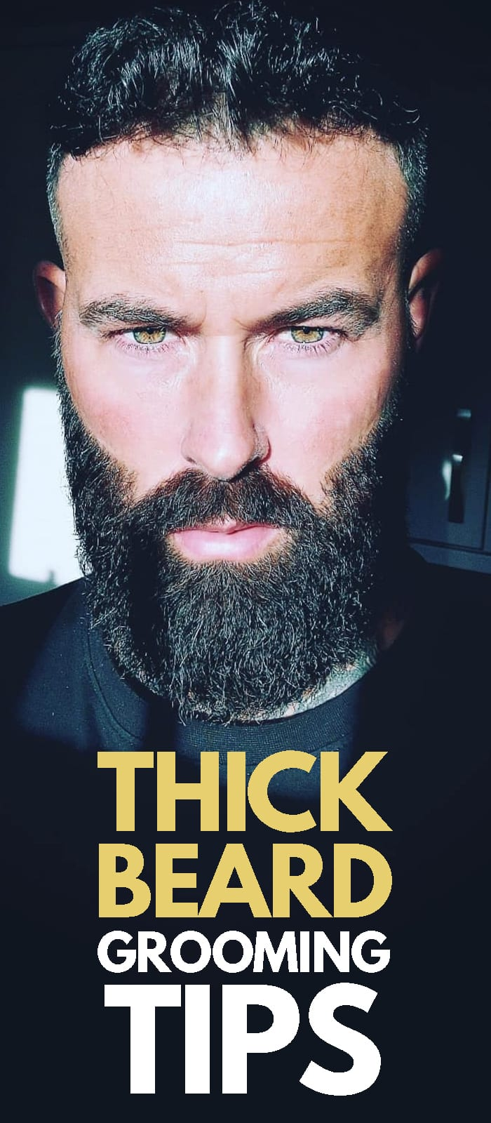 Thick Beard Grooming Tip